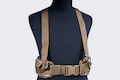 PANTAC Molle Cummerbund with Y-shape Suspender ( Large / A-TACS / Cordura)  <font color=red>(HOLIDAY SALE)</font>
