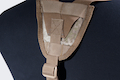 PANTAC Molle Cummerbund with Y-shape Suspender ( Medium / A-TACS / Cordura)