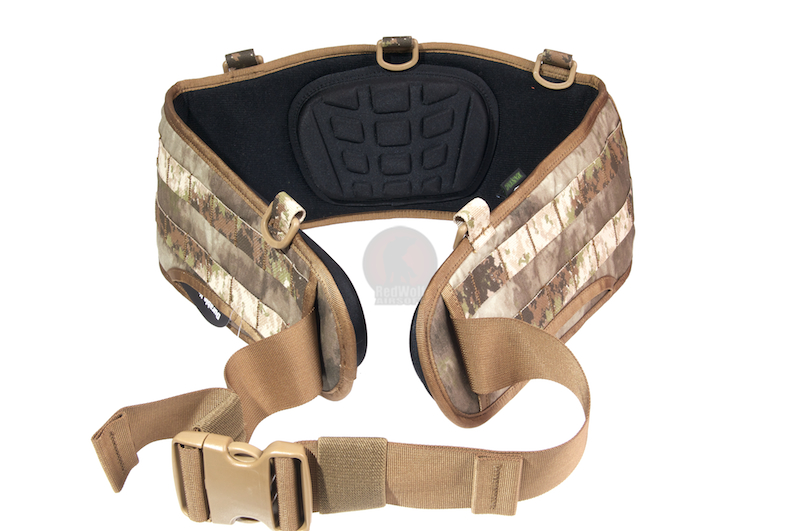 PANTAC Molle Ballistic Belt, (Medium / A-TACS / Cordura) - Deluxe Version
