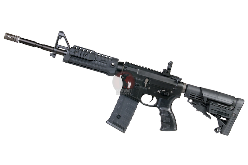 CAA Airsoft Division 14.5 inch M4 Rifle - BK <font color=red> (Clearance) </font>