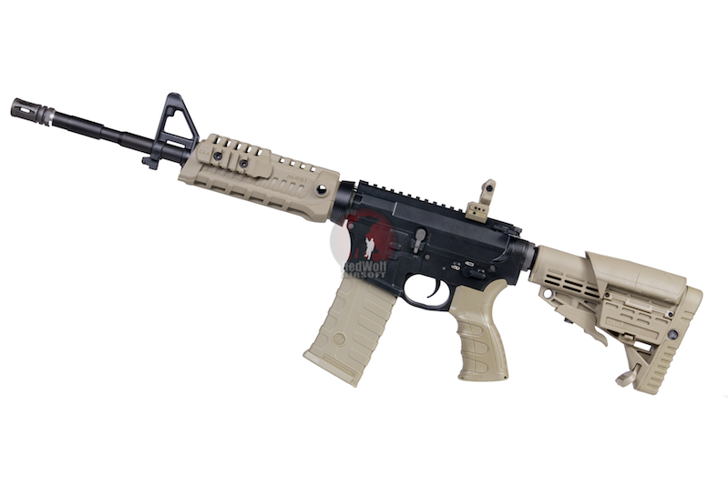 CAA Airsoft Division 14.5 inch M4 Rifle - DE<font color=red> (Clearance) </font>