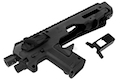CAA Airsoft Division MICRO RONI G3 Pistol - Carbine Conversion for Glock Series - BK