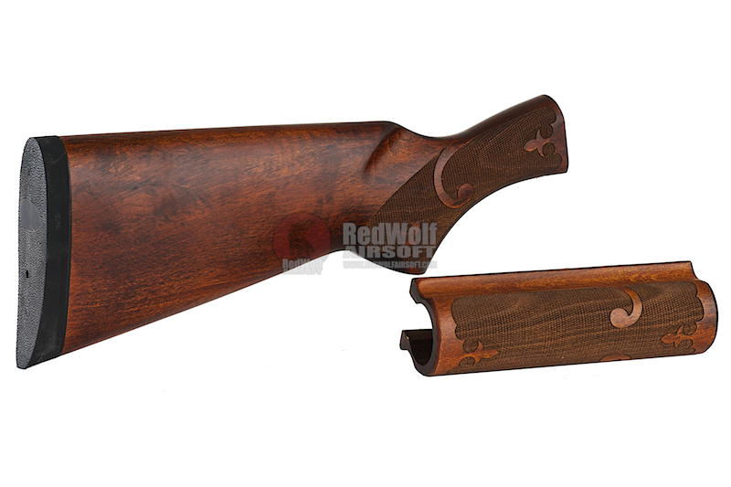 CAW Old A Wood Stock for Tokyo Marui M870 (Clearance)