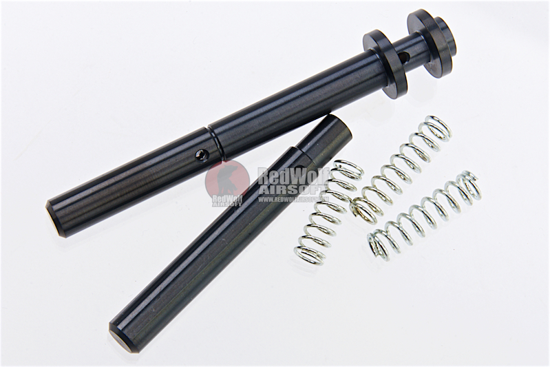 COWCOW Technology RM1 Stainless Steel Guide Rod for Tokyo Marui Hi-Capa 5.1 / 4.3 GBB Series - Black