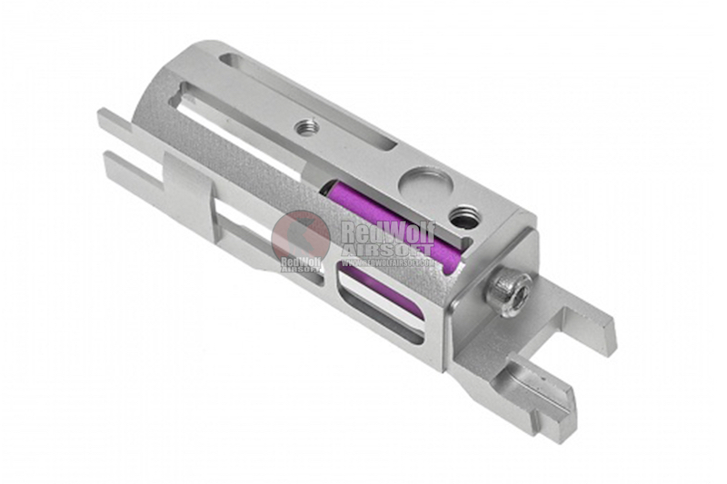 COWCOW Technology B02 Blowback Housing (Piston Head Ver.) for Tokyo Marui Hi-Capa / 1911 Series GBB Pistol - Silver