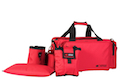 CED Deluxe Professional Range Bag for IPSC / USPSA / IDPA - Red