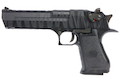 Cybergun WE Desert Eagle Tiger Stripe .50AE GBB Pistol - Black (by WE)