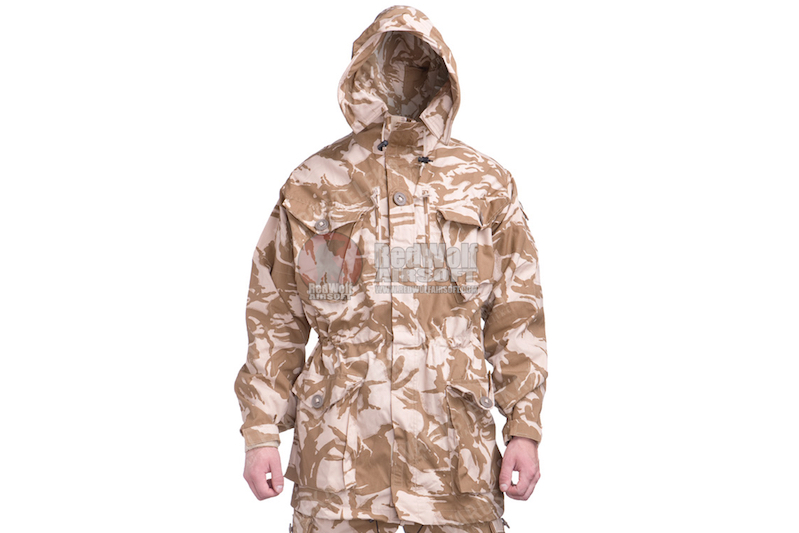 GK Tactical British Army Issue Windproof Combat Smock (size 190/96) - Desert DPM