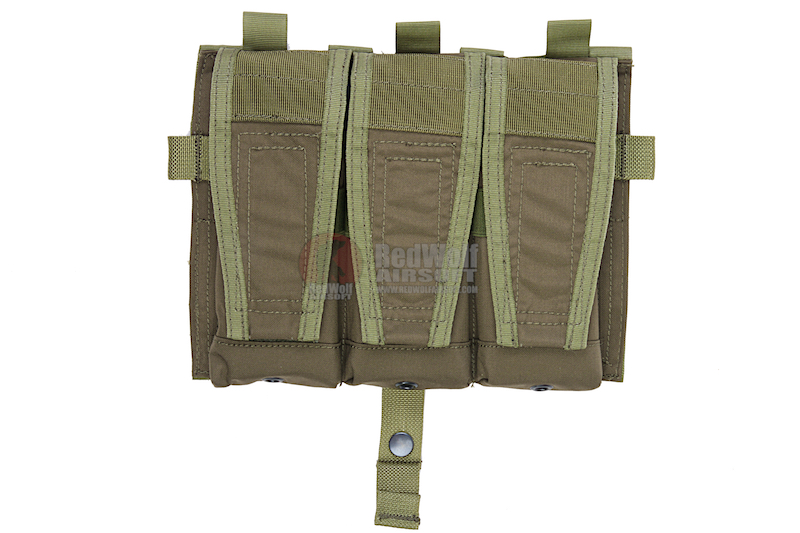 Crye Precision (By ZShot) AVS / JPC 5.56 Magazine Pouch (Ranger Green)