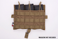 Crye Precision (By ZShot) AVS / JPC Molle Front Flap w/ Flat M4 Pouches (Coyote Brown)