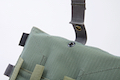 Crye Precision (By ZShot) AVS / JPC Molle Front Flap w/ Flat M4 Pouches (Grey)