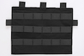 Crye Precision (By ZShot) Adaptive Vest System / Jumpable Plate Carrier Molle Front Flap (Black)