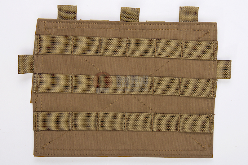 Crye Precision (By ZShot) Adaptive Vest System / Jumpable Plate Carrier Molle Front Flap (Coyote Brown)