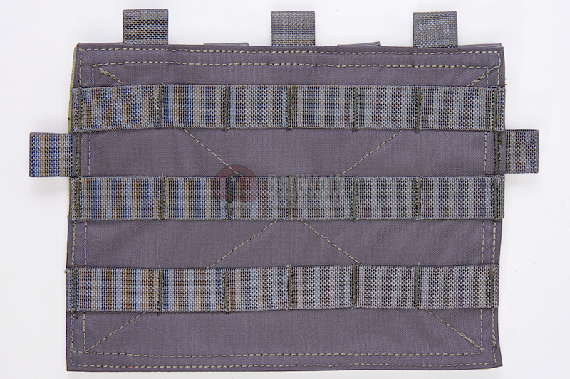 Crye Precision (By ZShot) Adaptive Vest System / Jumpable Plate Carrier Molle Front Flap (Grey)