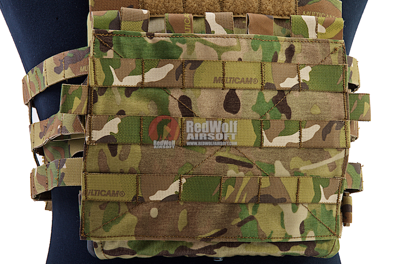 Crye Precision (By ZShot) Adaptive Vest System / Jumpable Plate Carrier Molle Front Flap (Multicam)