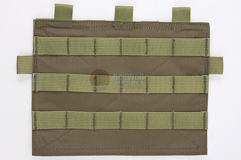 Crye Precision (By ZShot) Adaptive Vest System / Jumpable Plate Carrier Molle Front Flap (Ranger Green)