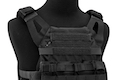 Crye Precision (By ZShot) Jumpable Plate Carrier JPC 2.0 w/ Flat M4 Molle Front Flap (L Size / Black)