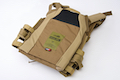 Crye Precision (By ZShot) Jumpable Plate Carrier JPC 2.0 w/ Flat M4 Molle Front Flap (L Size / Coyote Brown)