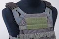 Crye Precision (By ZShot) Jumpable Plate Carrier JPC 2.0 w/ Flat M4 Molle Front Flap (L Size / Grey)