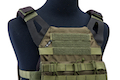 Crye Precision (By ZShot) Jumpable Plate Carrier JPC 2.0 w/ Flat M4 Molle Front Flap (L Size / Ranger Green)