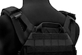 Crye Precision (By ZShot) Jumpable Plate Carrier JPC 2.0 w/ Flat M4 Molle Front Flap (M Size / Black)