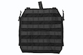Crye Precision (By ZShot) AVS / JPC Zip-On Molle Back Panel (L Size / Black)