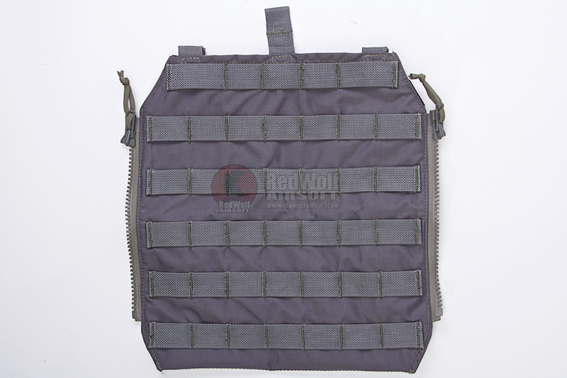 Crye Precision (By ZShot) AVS / JPC Zip-On Molle Back Panel (L Size / Grey)