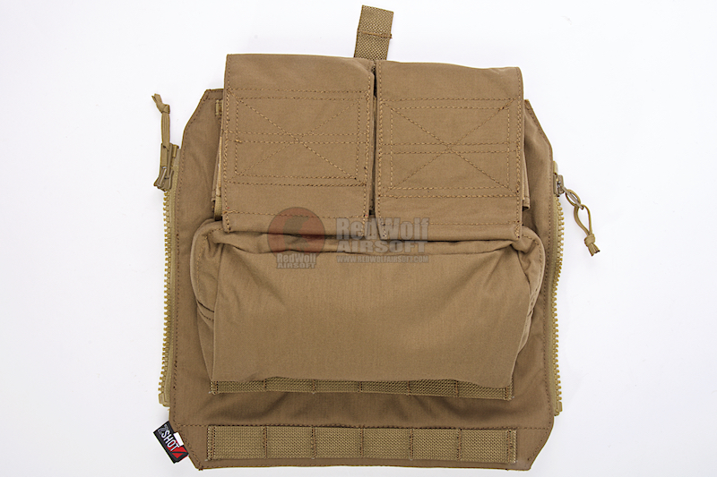 Crye Precision (By ZShot) AVS / JPC Zip-On Pouch (M Size / Coyote Brown)