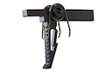 Crusader Steel Match Trigger for VFC M4 / Umarex (VFC) HK416 GBBR - Black (by VFC)