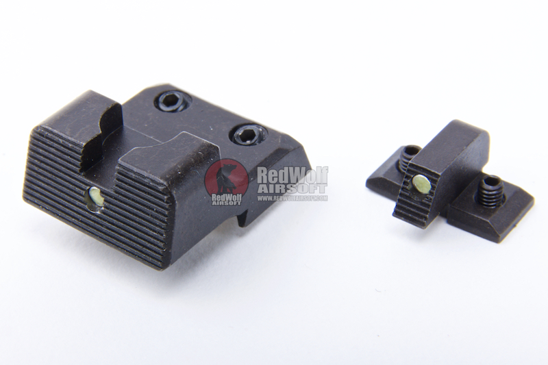Crusader VP9 Low Aiming Front & Rear Set for Umarex / VFC VP9 GBB