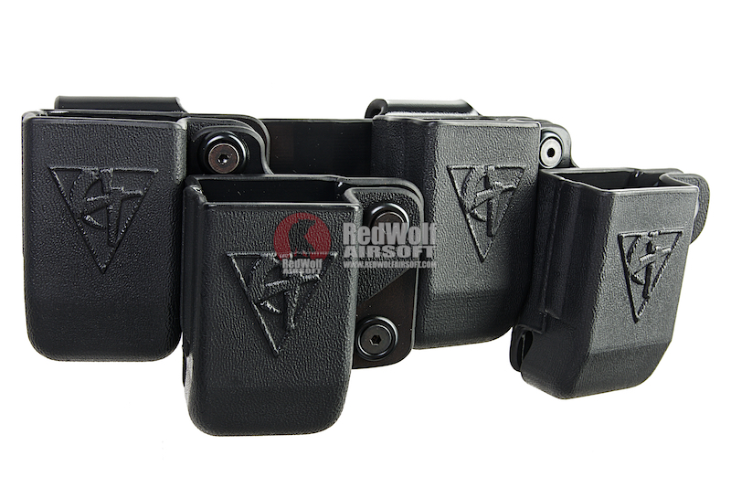 Comp-Tac Beltfeed (1911 Double Stack) for Hi Capa 5.1 Magazine (Right Hand / Black)