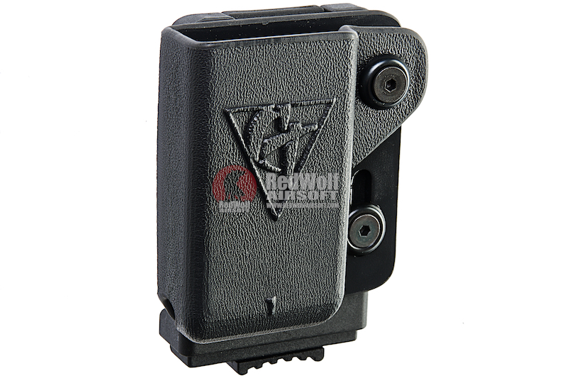 Comp-Tac PLM Single Magazine Pouch (1911 Single Stack) for 1911 Magazine (Right Hand / Black)