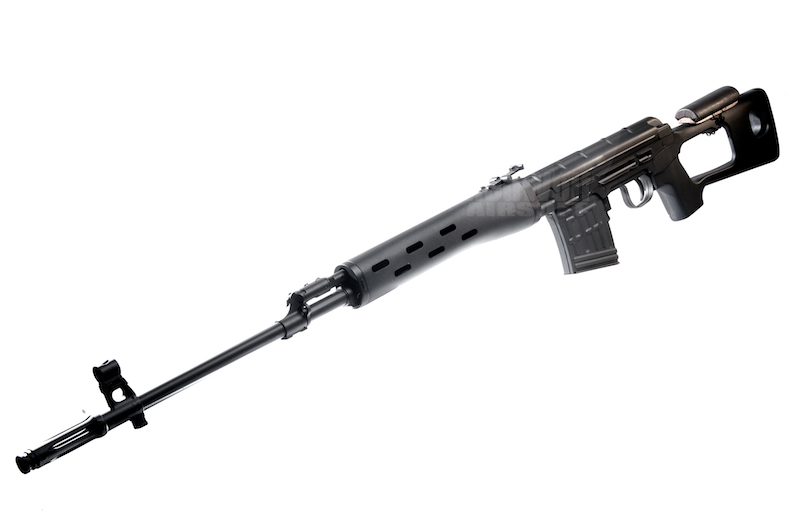 Cybergun Kalashnikov Sniper Rifle (Spring Cocking Version)  <font color=red> (Clearance)</font>