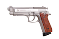 Cybergun Taurus PT92 Hairline Silver CO2 GBB (by Win Gun)
