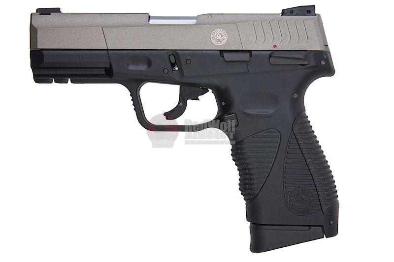 Cybergun TAURUS 24/7 Gen 2 Silver Co2 GBB (by KWC)