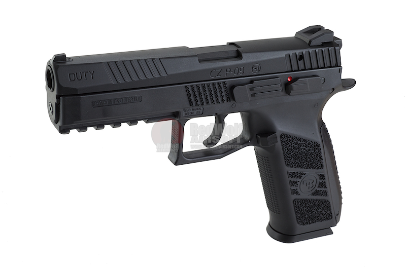 KJ Works CZ-75 P-09 Duty (ASG Licensed) - Gas Version