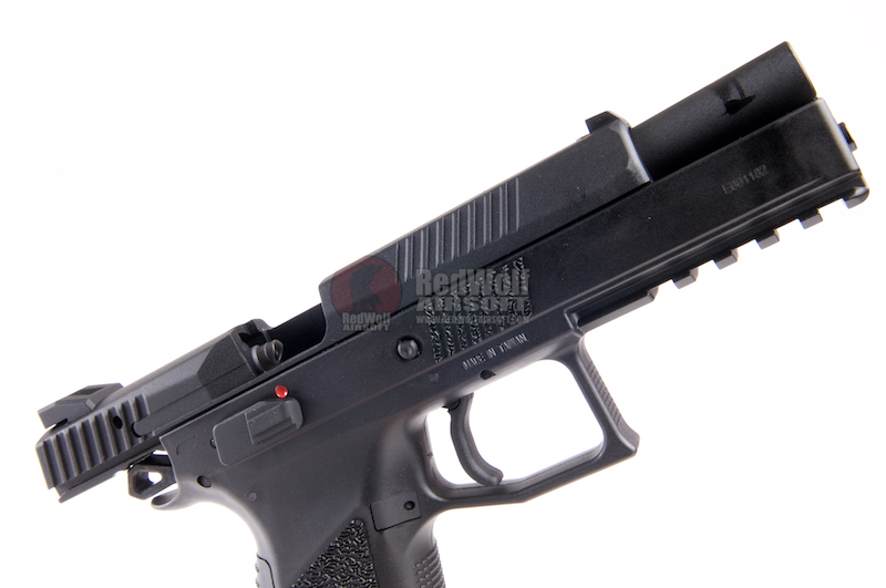 KJ Works CZ P-09 Duty (ASG Licensed) - Green Gas Version