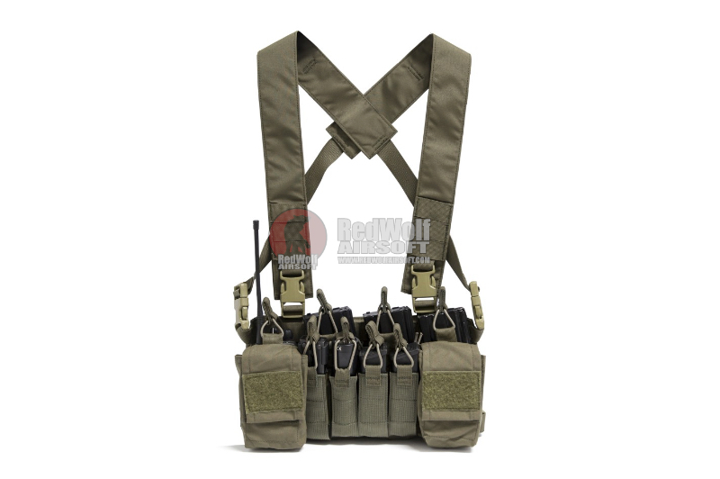 Haley Strategic D3CR-X Disruptive Environments Chest Rig - Ranger Green