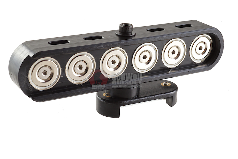 DAA Magnetic 12 Gauge Caddy (6-Shot) for 870