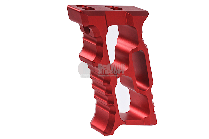 Daruma Custom HALO MiniVert Grip - (Red / Aluminum)