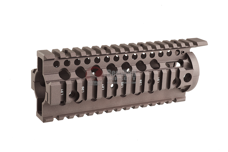 Madbull Daniel Defense 7 inch Omega Rail (Dark Earth)