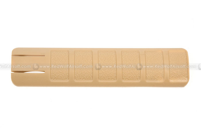 Deep Fire Rail Cover 156mm (1 piece) (Tan)