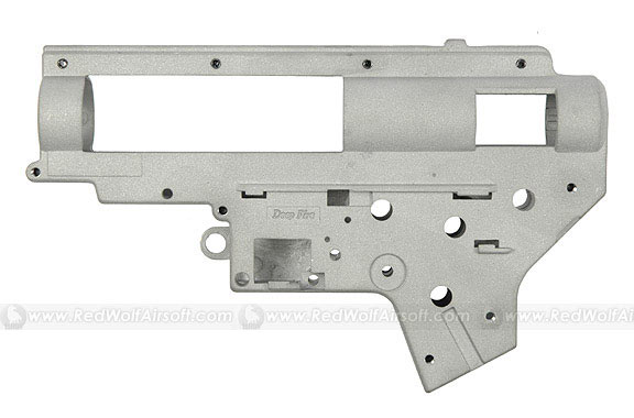 Deep Fire Reinforced 6mm Gearbox Case Ver.II without Bearing for M16 / NP5 / G3
