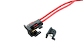 Deep Fire New 350 degree Heat Resistance Switch Set for Ver.2 Gearbox for M4,M16A2 / G3 / MP5A4 (rear)