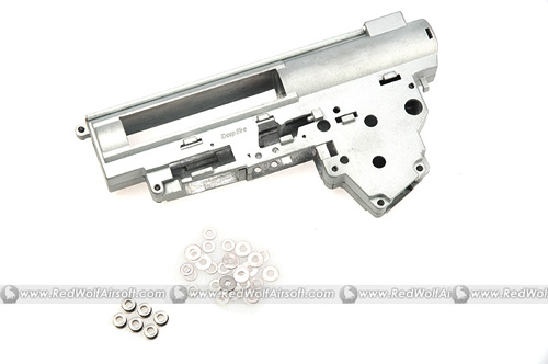 Deep Fire Reinforced Gearbox Case Ver 3 Gearbox with 6mm Bearing for AK