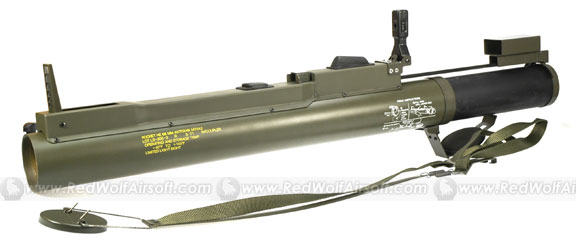 Deep Fire M72A2 Launcher (Plastic)