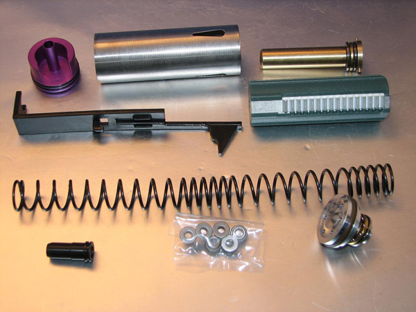 Deep Fire Full Tune Up Kit for Marui NP5 (M100 Original Cylinder / Enlarged Nozzle) (Bore Up Version)<FONT COLOR=RED>(Clearance)</font>