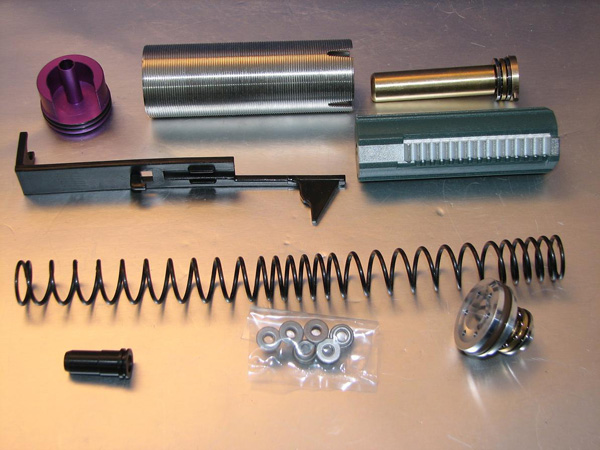 Deep Fire Full Tune Up Kit for Marui G3 (M100 Original Cylinder / Enlarged Nozzle) (Bore Up Version)