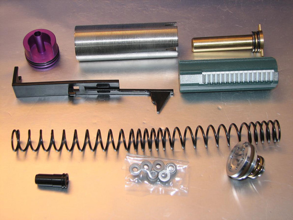 Deep Fire Full Tune Up Kit for Marui SIG 550 (M100 Enlarged Set) (Bore Up Version)
