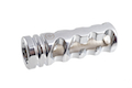 Madbull DNTC 308 Flash Hider (Chrome Silver, 14mm CCW)